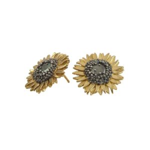 Sunflower Studs by Sheena McMaster