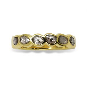 Rough Diamond Eternity Ring