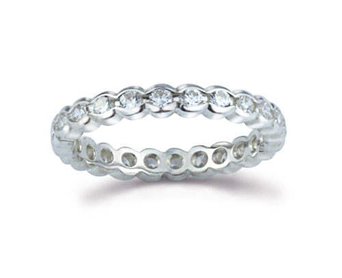 Eternity Ring Scalloped