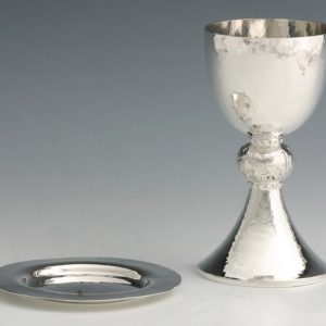 Silver Four Evangelists Chalice