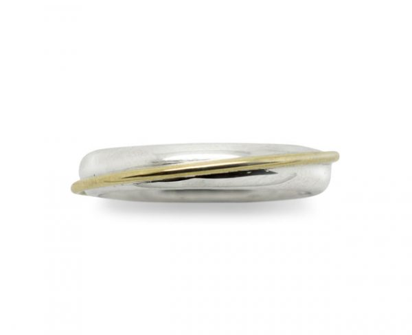 Gold Wire Wrap Wedding Ring
