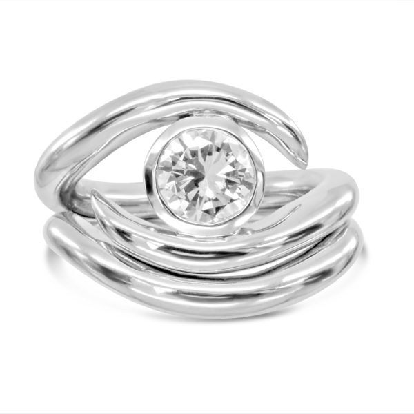 Engagement Ring & Fitted Wedding Ring