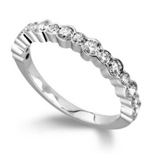 Eternity Ring Half Scalloped