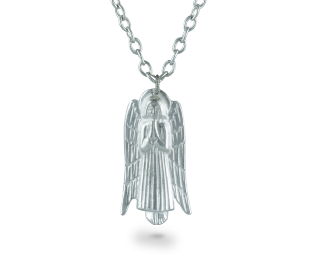 Silver angel pendant pruden and smith silver angel pendant aloadofball Image collections