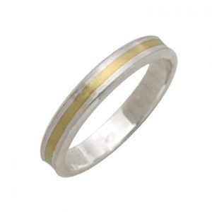 Two Colour Banded Ring