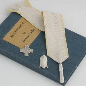 Silver Angel Bookmark