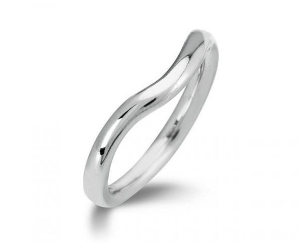 Curved Fitted Wedding Ring