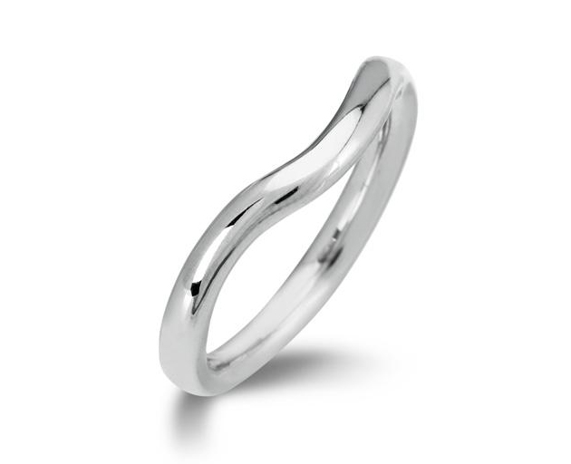 Curved Ed Wedding Ring