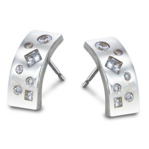 Diamond Scatter Earrings