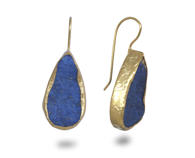 handmade lapis noqra daira silver jewellery product earrings and dsc afghan drop
