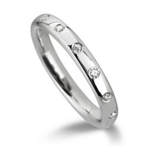 Wedding Ring Flush Set