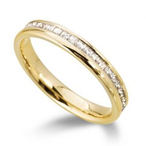 Eternity Ring Princess Cut Diamond