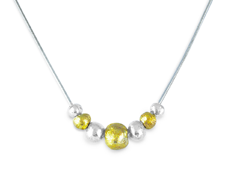 recycled gold nugget jewelllery