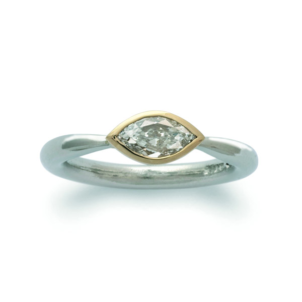 Marquise Diamond Engagement Ring Pruden And Smith