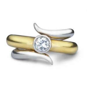 0.5ct Diamond Engagement Ring & Fitted Wedding Ring Set