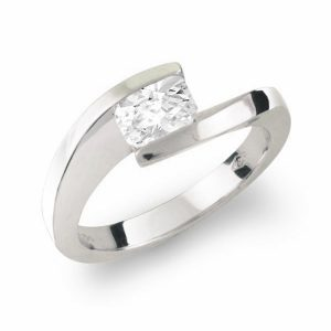 Korloff cut diamond ring