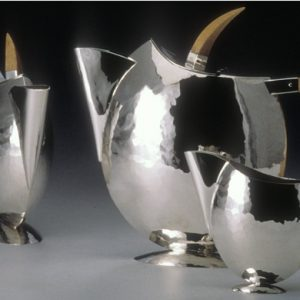 Skein Silver Tea Pot
