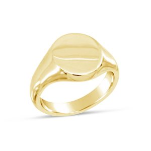Oval signet ring Pruden and Smith