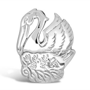 Silver Pelican Pendant and Brooch