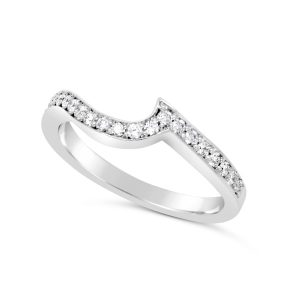 fitted eternity ring or wedding band