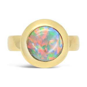 18ct Gold and Opal Ring