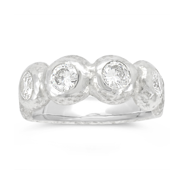 contemporary eternity ring