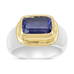 Sapphire Ring in 18ct Gold Setting