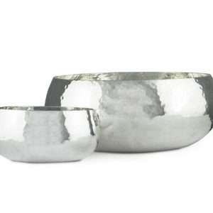 Hammered Silver Bowl