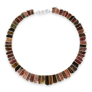 Multi Coloured Tourmaline Necklace