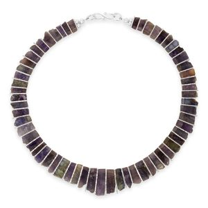 Tanzanite Tab Necklace