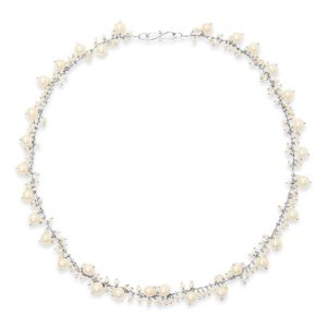Pearl Beaded Chain Necklace