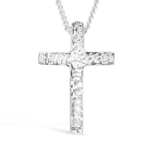 Solid Silver Cross Pendant
