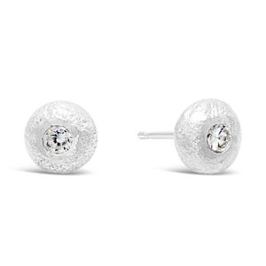 diamond nugget earstuds