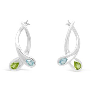Moi et toi Earrings Peridot Topaz Earrings