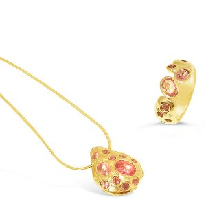 Bespoke gold jewellery