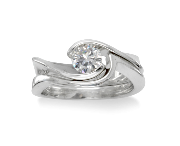Bespoke engagement rings and wedding bands
