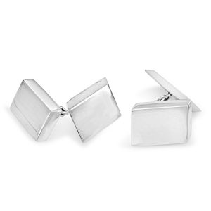 Silver heavyweight cufflinks
