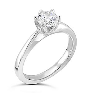 Claw Set Engagement Rings