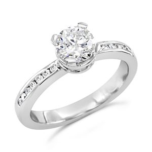 Diamond Bouquet Engagement Ring
