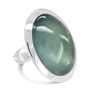 Giant Aquamarine Ring