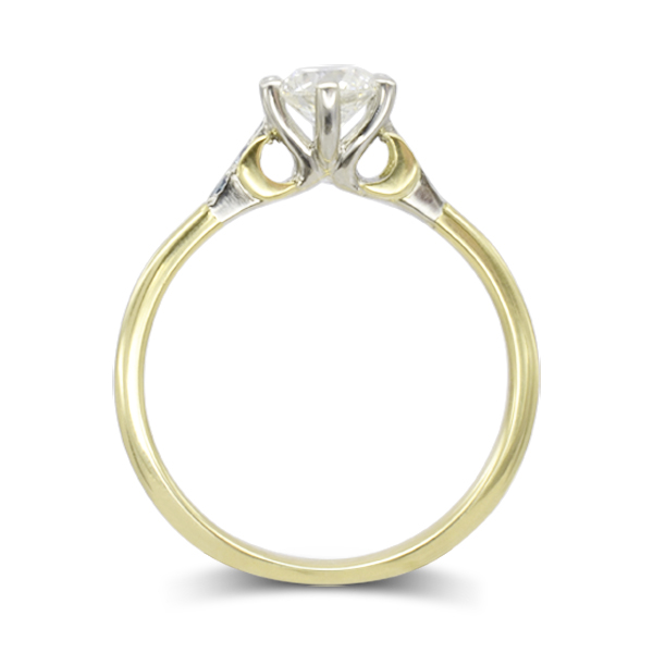 conroy products gillian rings ring white moon gold yellow jewelry crescent diamond engagement