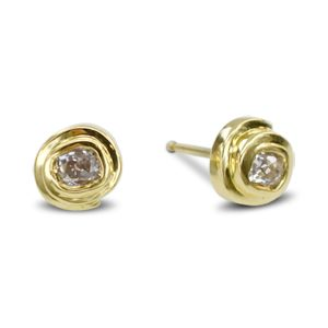 Old Cut Diamond Earstuds