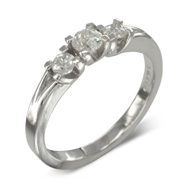 Bespoke Small Diamond Engagement Ring