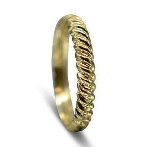 Gold Twisted Wedding Ring