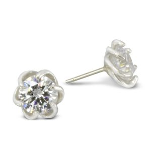 Six Claw Diamond earstuds