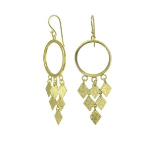 Chandelier Earrings Vermeil