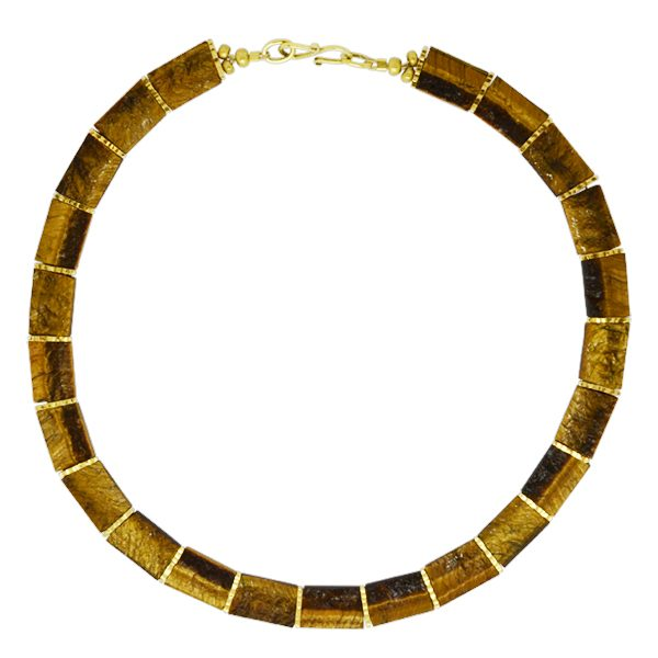 Tigers Eye Collar Necklace