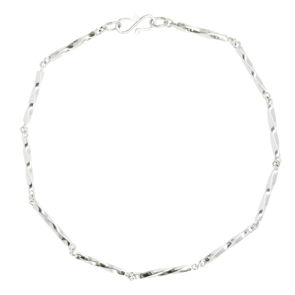 Barleycorn Twisted Chain Necklace