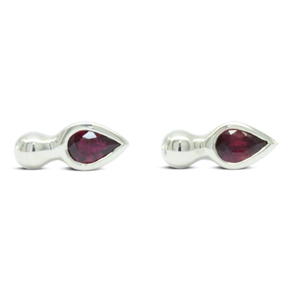 Ruby wedding anniversary Earstuds