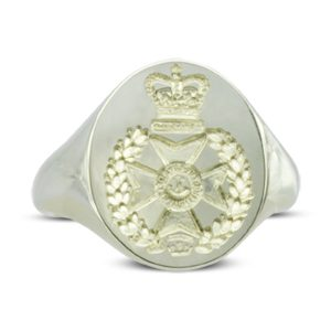 Regimental Badge Signet Ring
